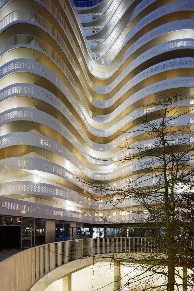 Архитектурная корпорация HAMONIC + MASSON & ASSOCIÉS презентует новый жилой комплекс в Нанте (Франция)
