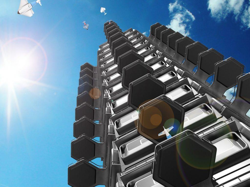 Небоскребы будущего: модели кондоминиумов от Чарльза Бомбардье
