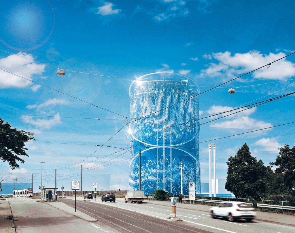 Башня Центра хранения энергии в Гейдельберге