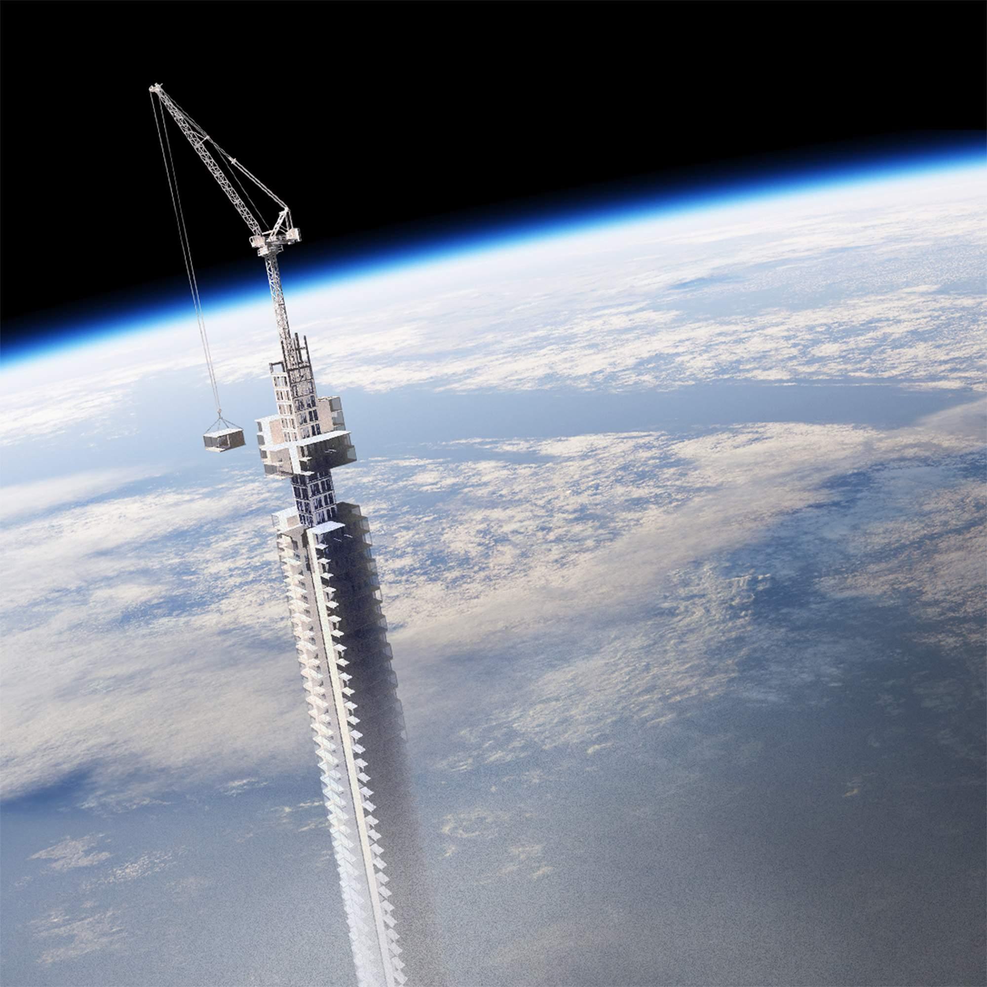 Парящая башня: проект, который переворачивает современную архитектуру с ног на голову