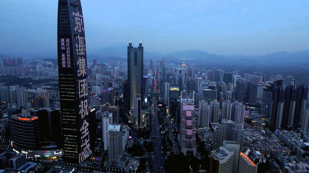 Шеньчжень – город будущего