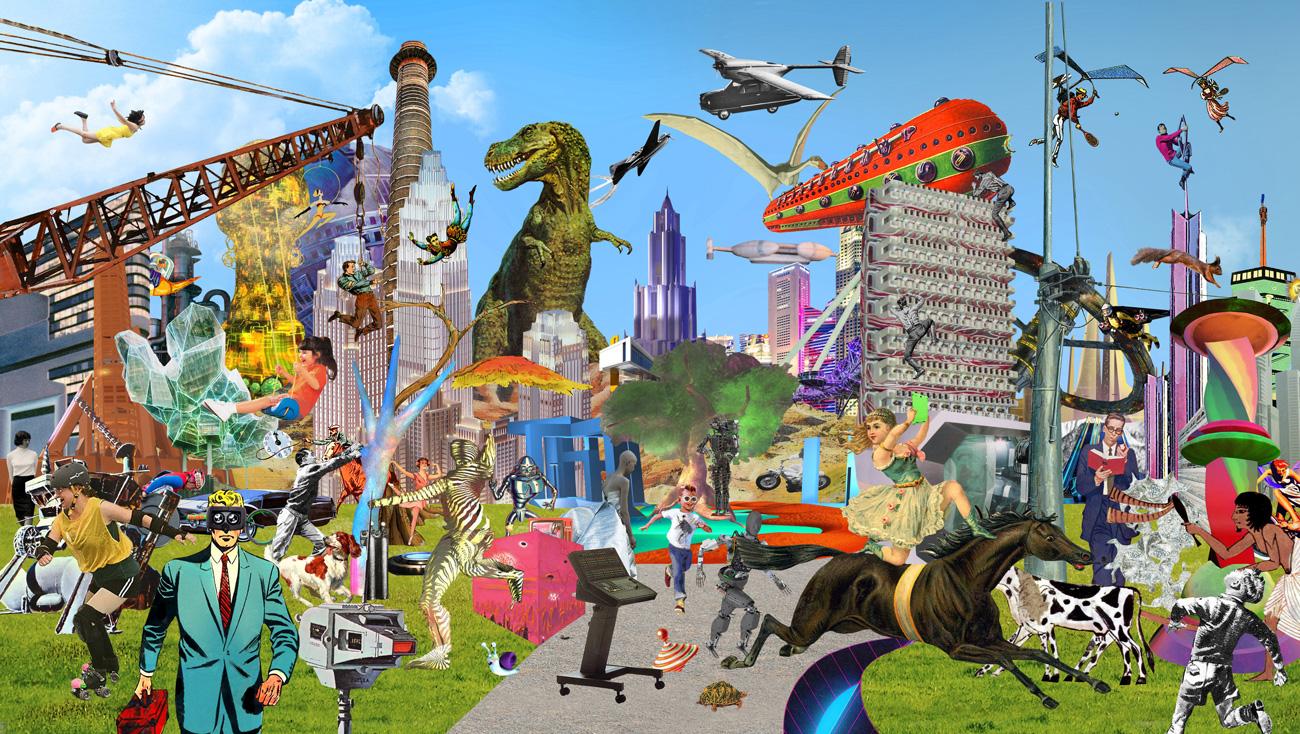 Пост-интернет искусство и новая культура пространства