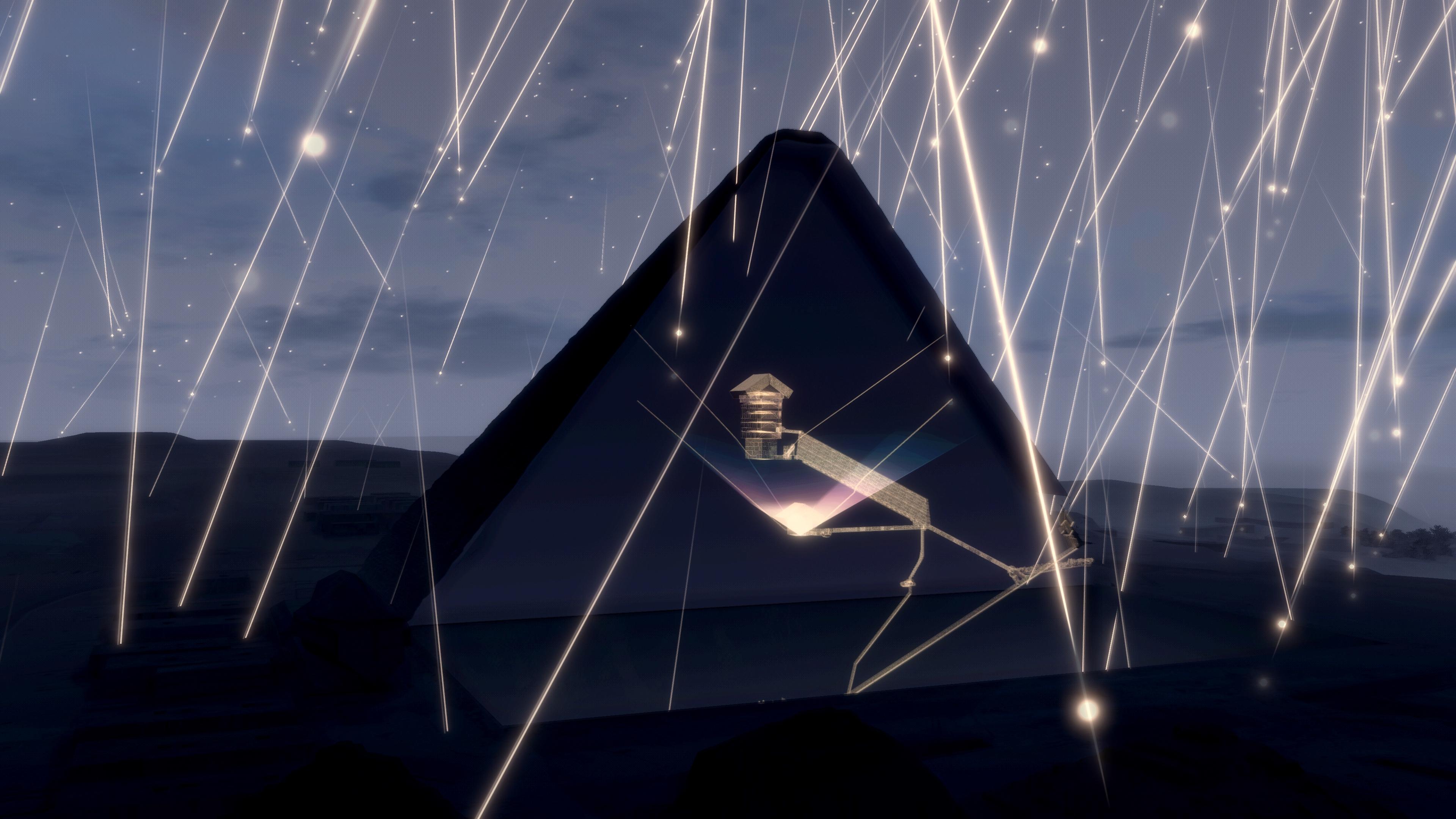 Мюоны и пирамиды