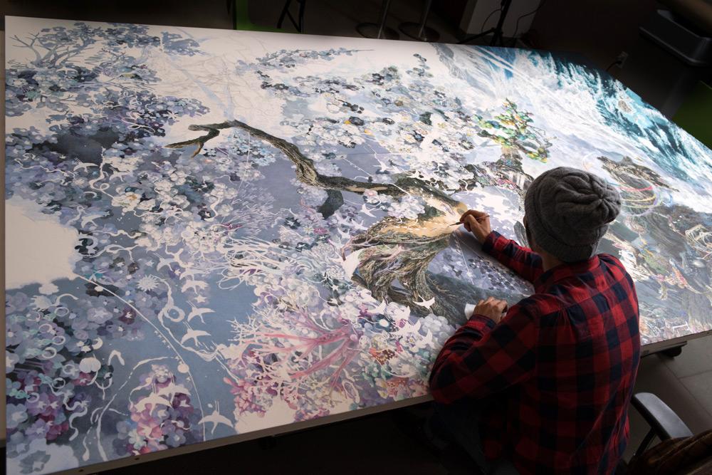Возрождение от художника Манабу Икеда