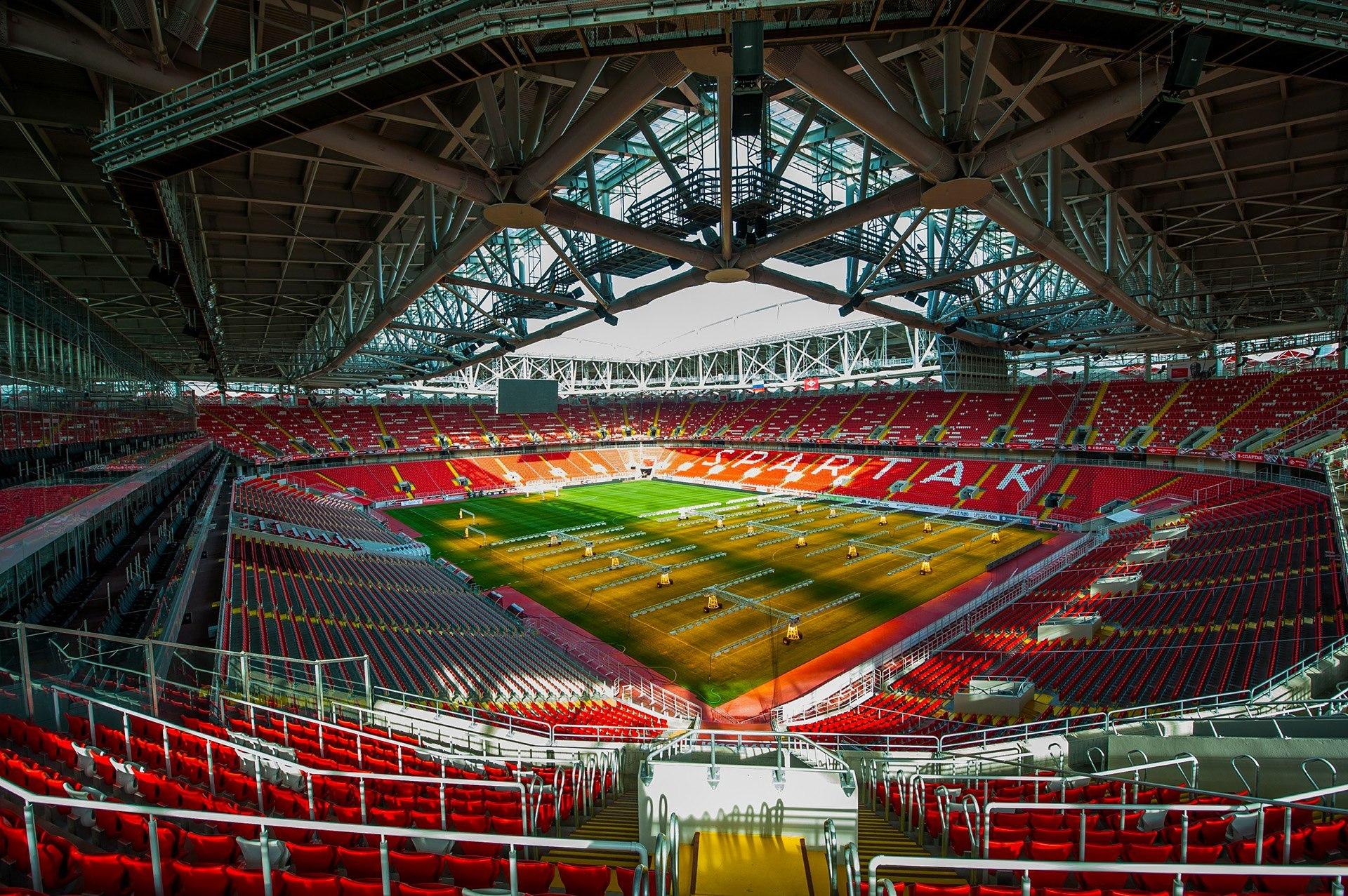 12 стадионов для чемпионата мира по футболу