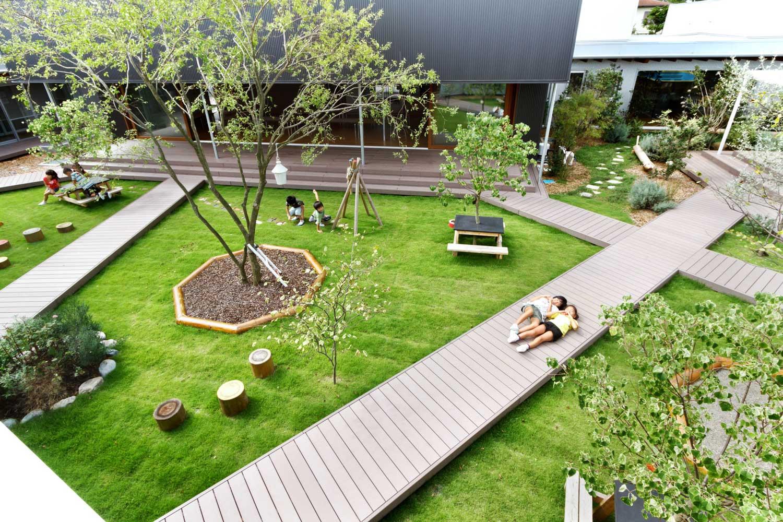 Студия Hibino Sekkei+ Youji – специалисты детского садо-строительства