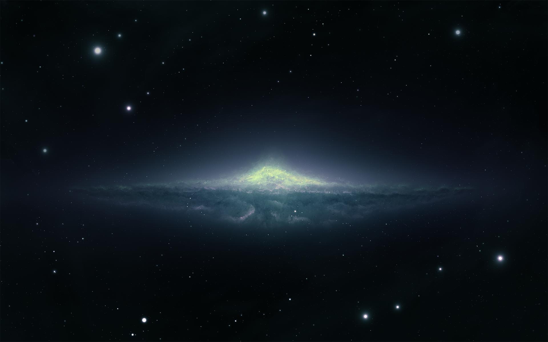 На сколько велика Андромеда