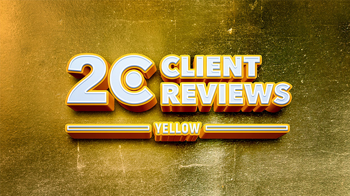 Yellow Receives 20 Positive Reviews on Clutch.co
