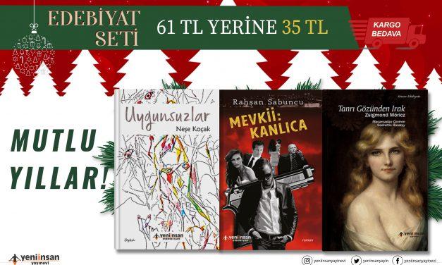 Edebiyat Okurlarımız için Yılbaşı Seti Web Sitemizde