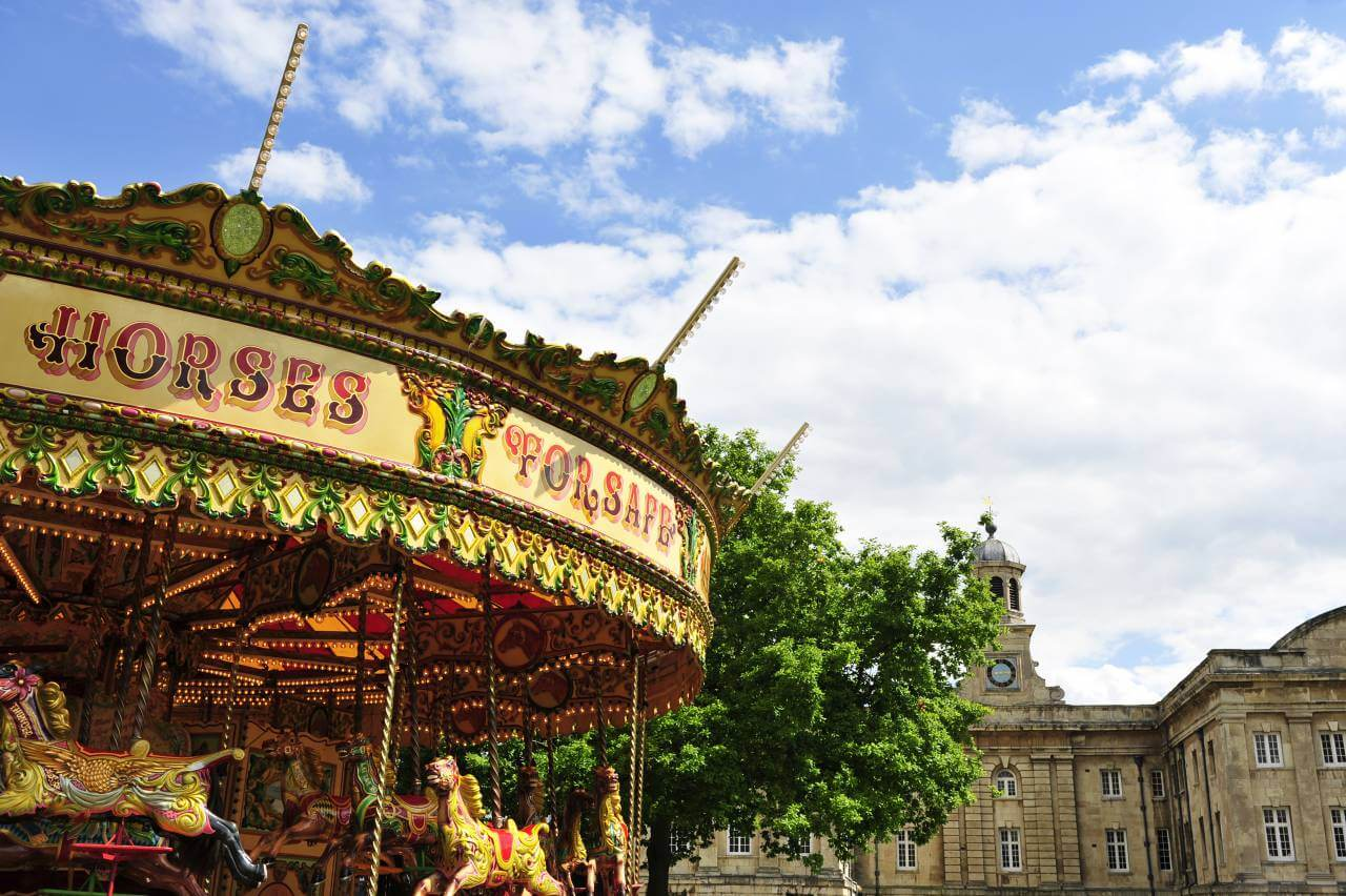 York city centre merry-go-round