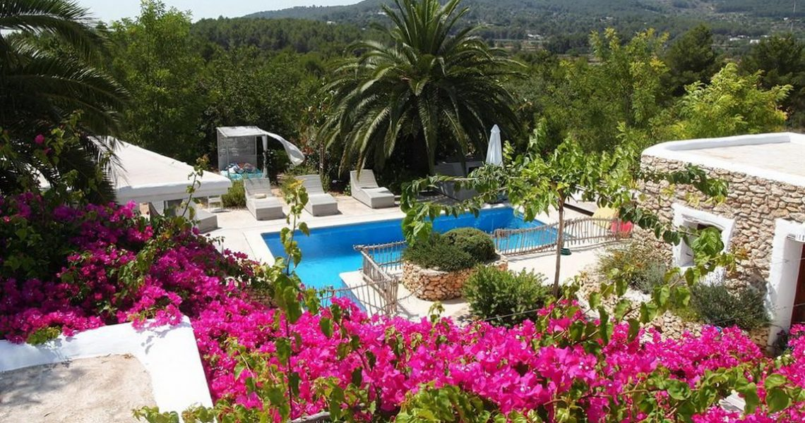 Beautiful villa in Ibiza in central position