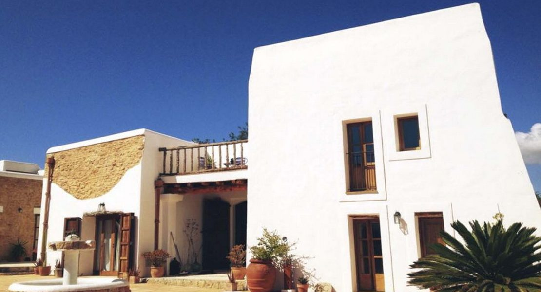 Beautiful villa in Ibiza restored with charm and attention to detail