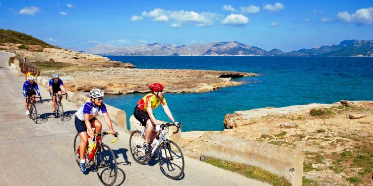 Bicycle tour of the Balearic Islands