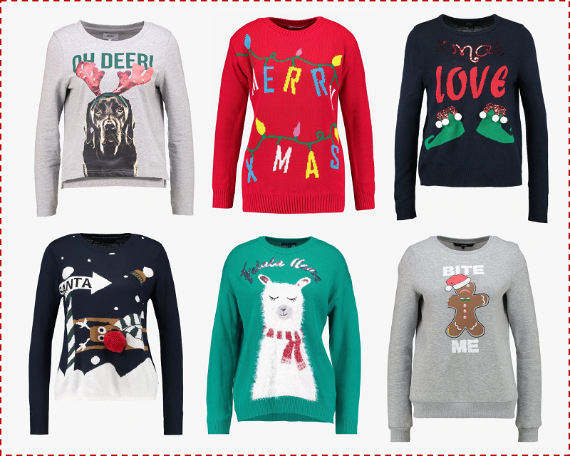 Christmas Jumpers 2018 Zalando Privé