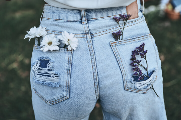 True Religion helle Jeans