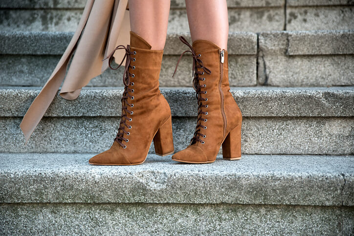 Braune Fashion Boots