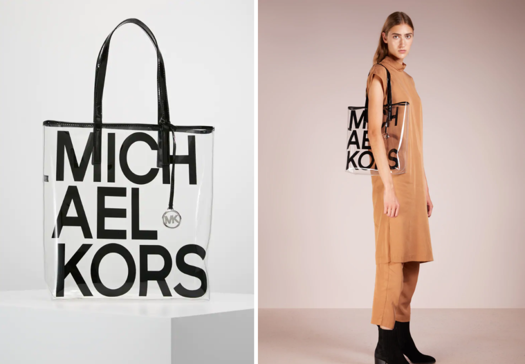 Michare-Kors-transparenter-Shopper
