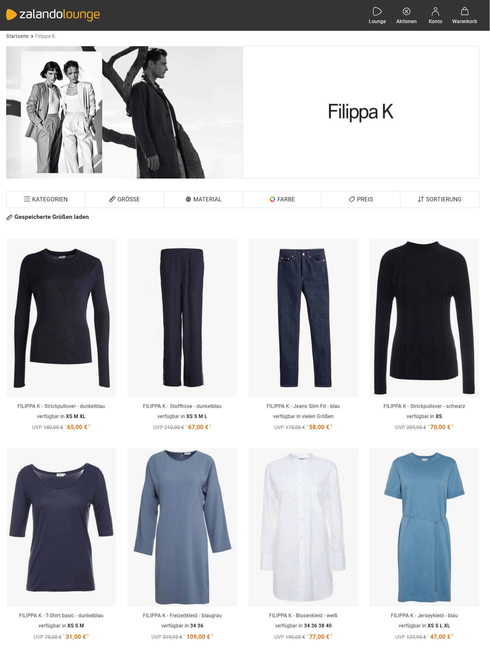Filippa K Sale Zalando Lounge