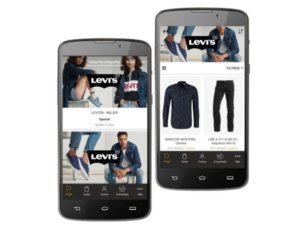levis outlet zalando prive