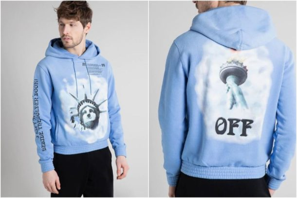off white sudadera new york