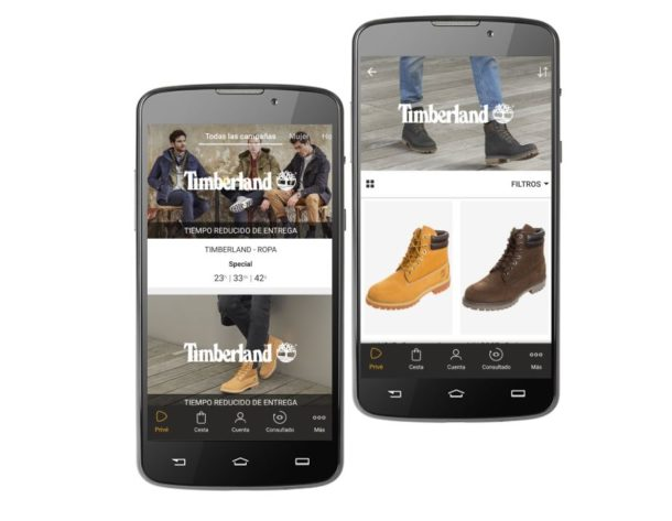 timberland outlet zalando prive