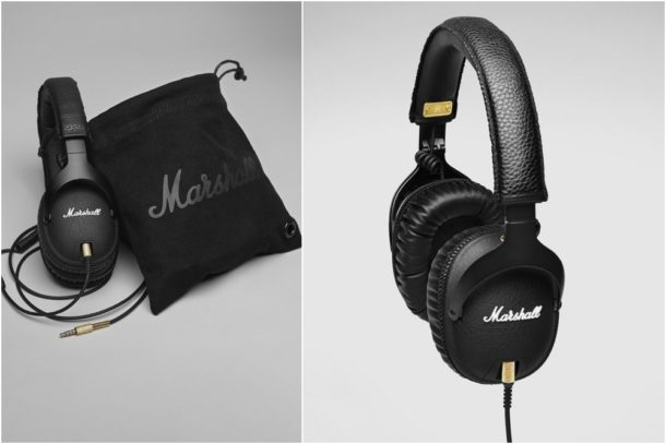 auriculares marshall negros