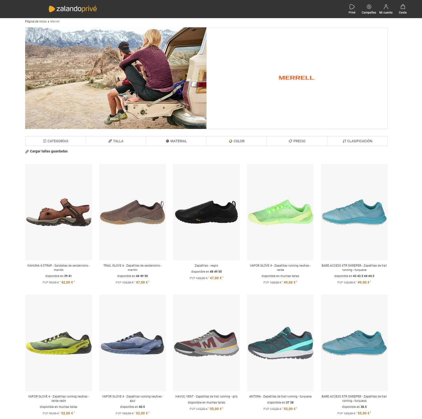 merrell outlet
