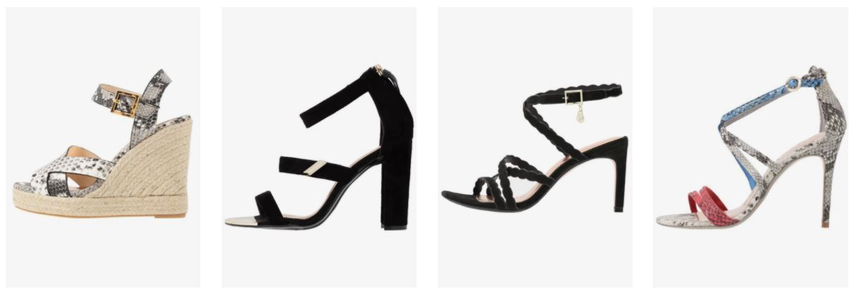 zapatos ted baker mujer