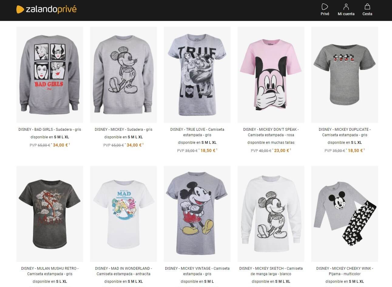 camisetas mickey mouse