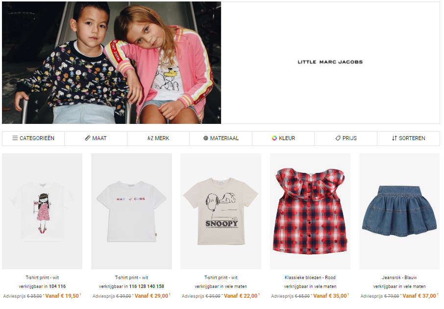 BE_kids outlet