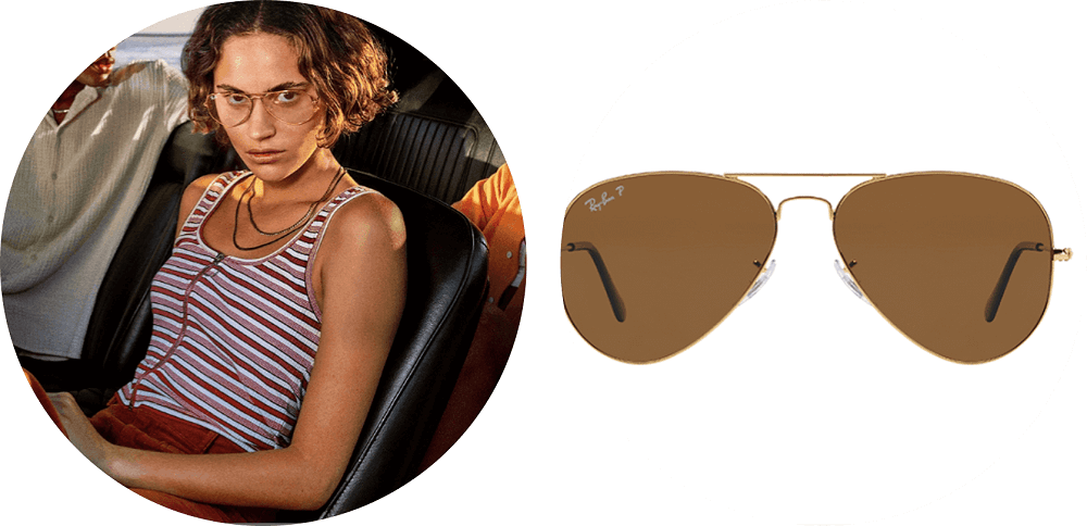 ray-ban aviator im zalando lounge outlet