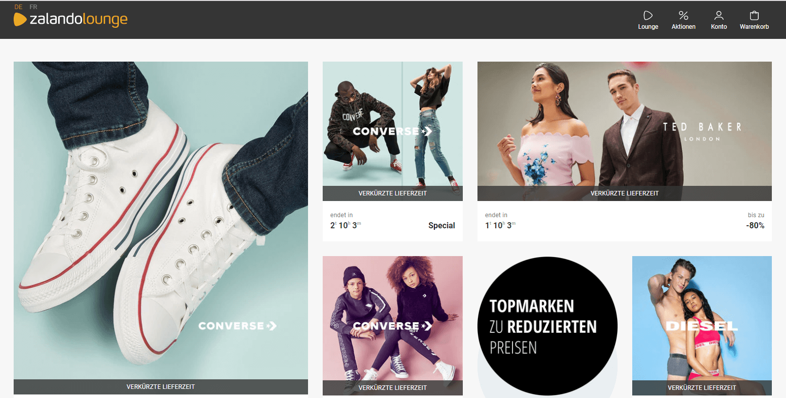 Top Brands Zalando Lounge