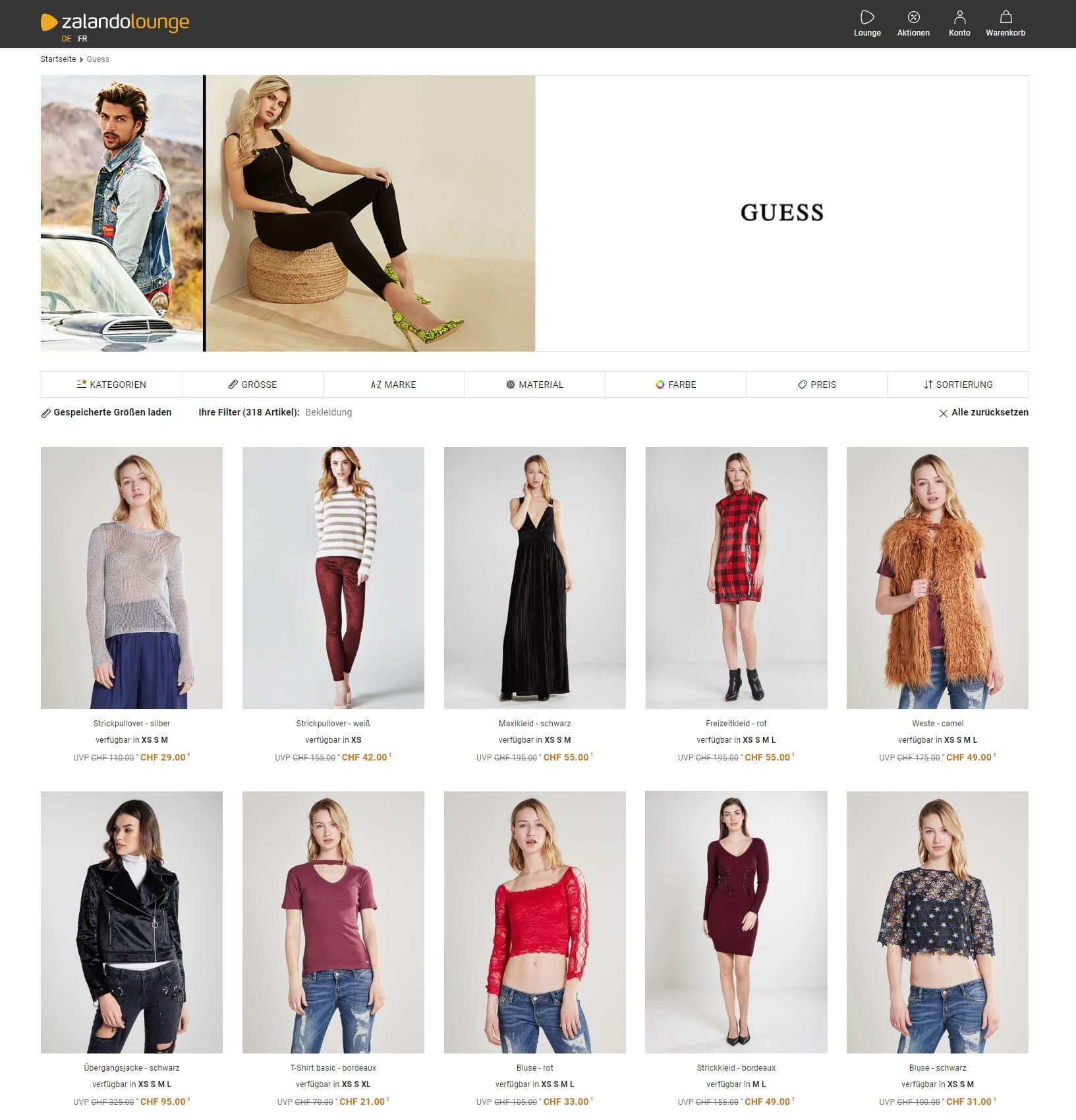 guess outlet online