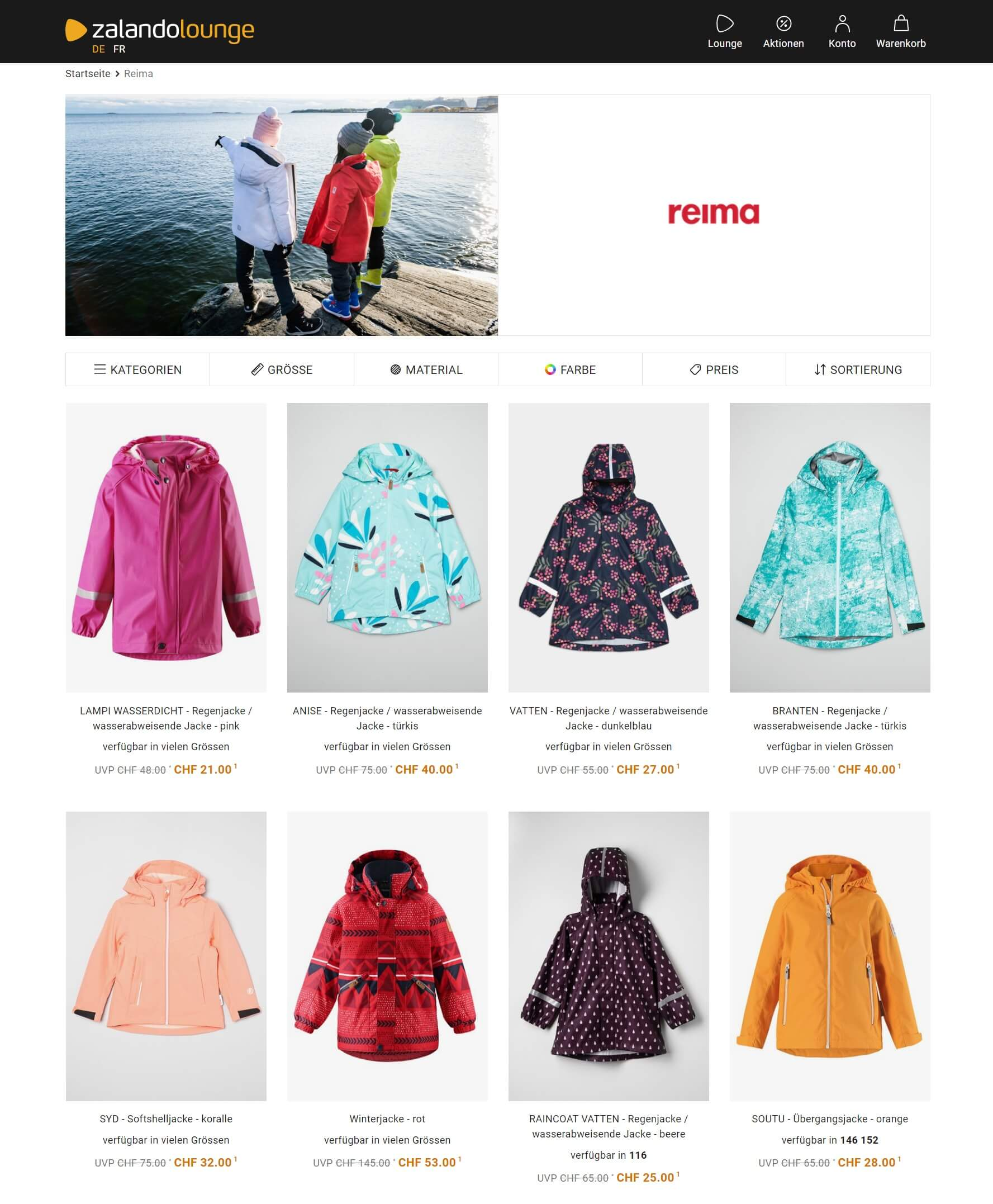 reima outlet ch