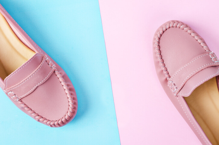Pink loafers Loafers Sale