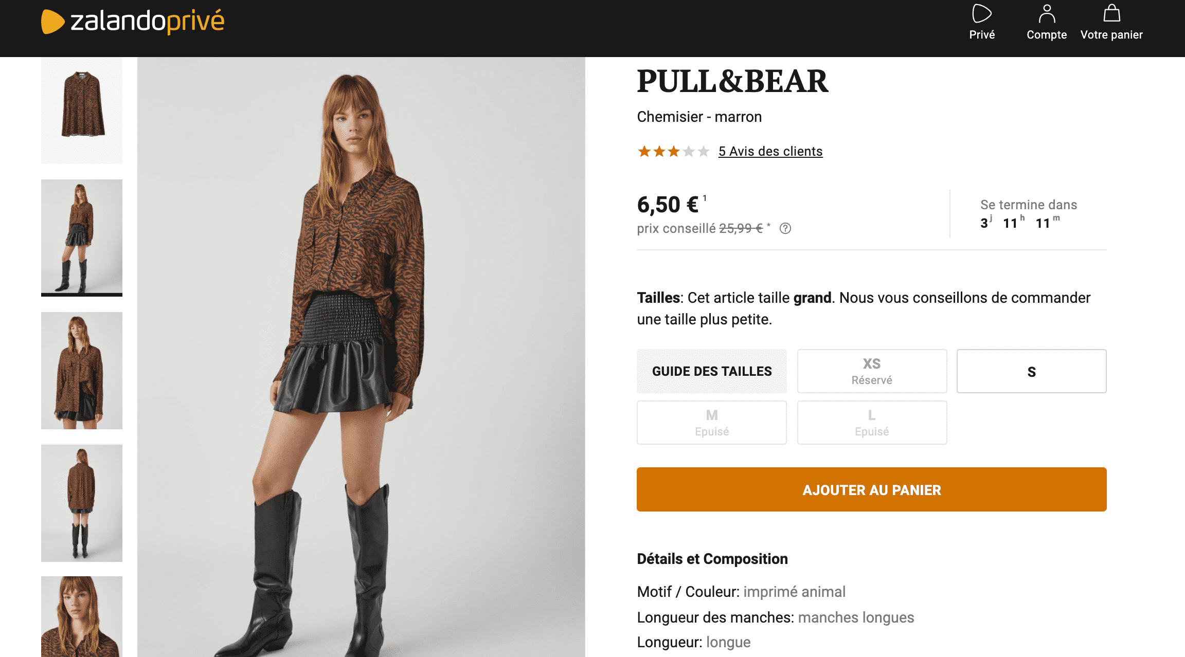Promo pull and bear