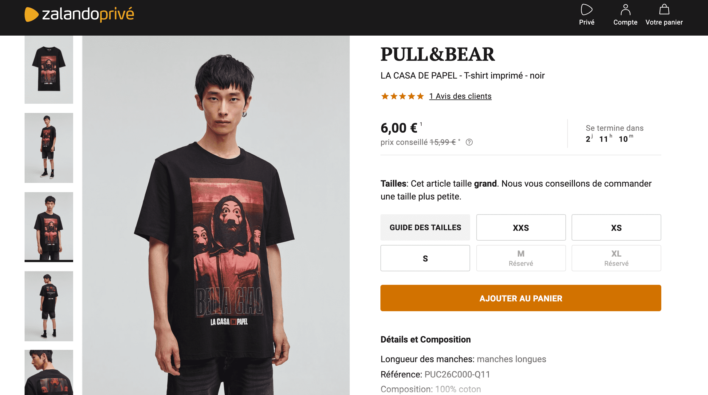 Pull and bear homme