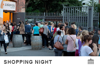 Shopping Night im Berliner Outletstore