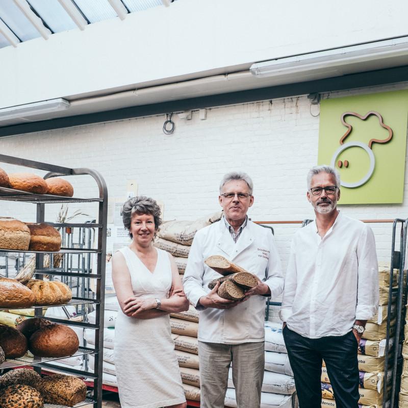Het traagste brood. Lutgart Lyen en Marc van Eeckhout in een cocreatietraject met Frank Wouters van communicatiebureau De Merksmederij.