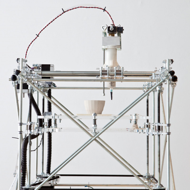 Ceramic 3D printing - Unfold