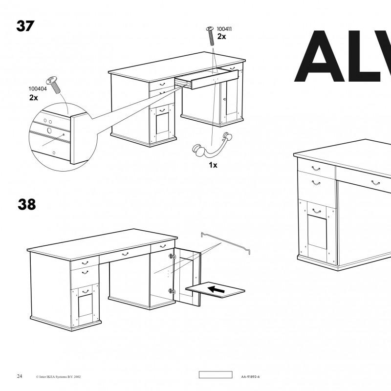 Ikea bureau