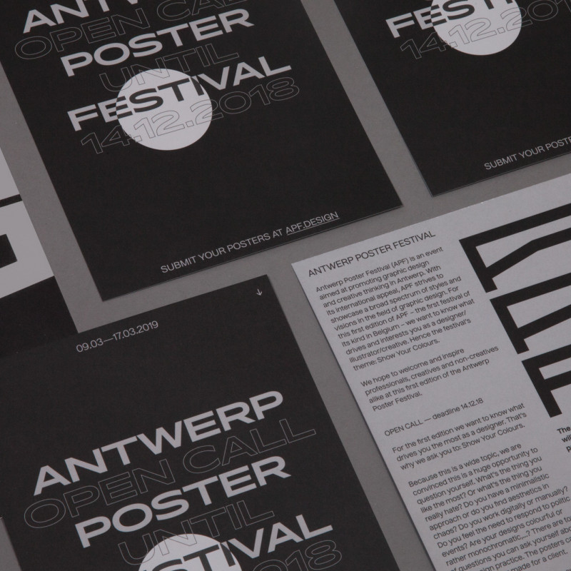Antwerp Poster Festival SSNN creative agency