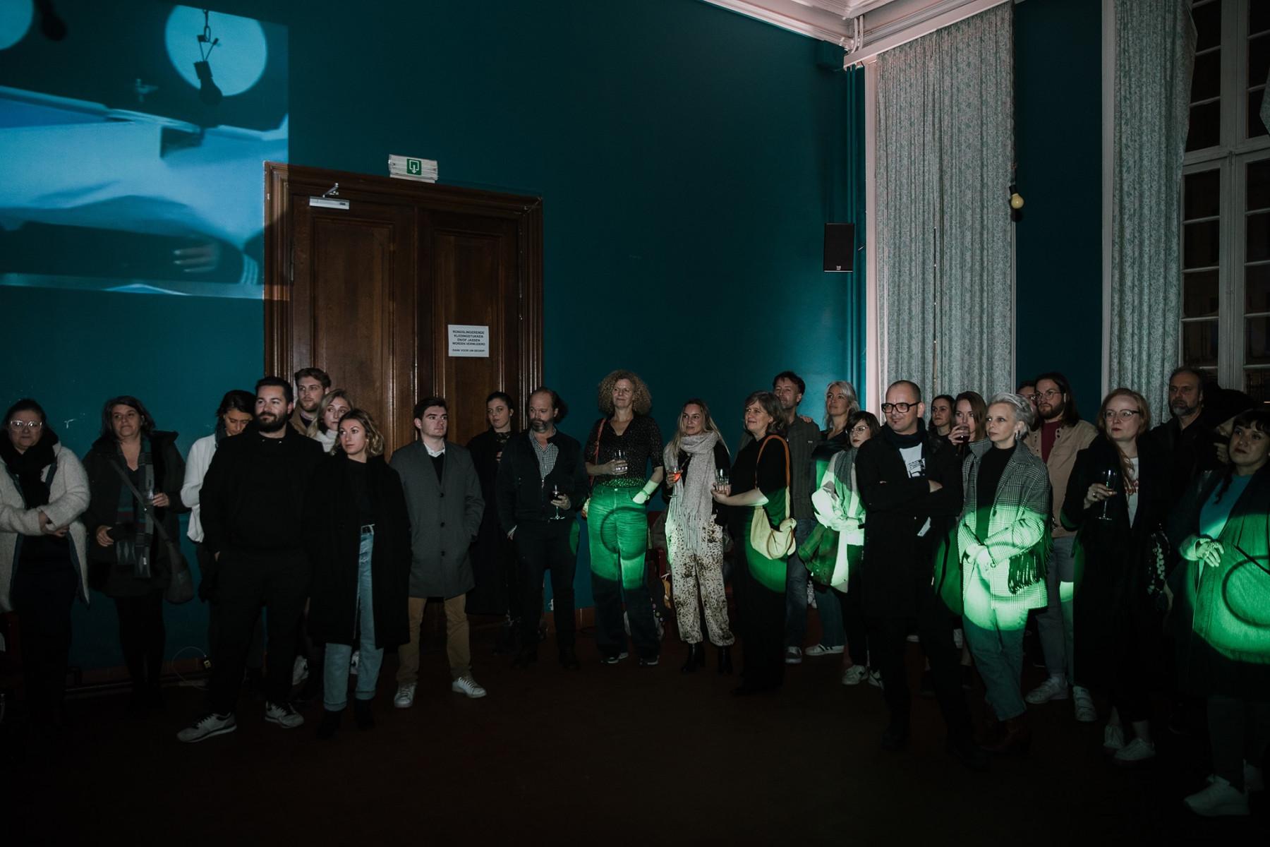 Het event '5 jaar APBC' trok heel wat creatives naar Bar Rodin.