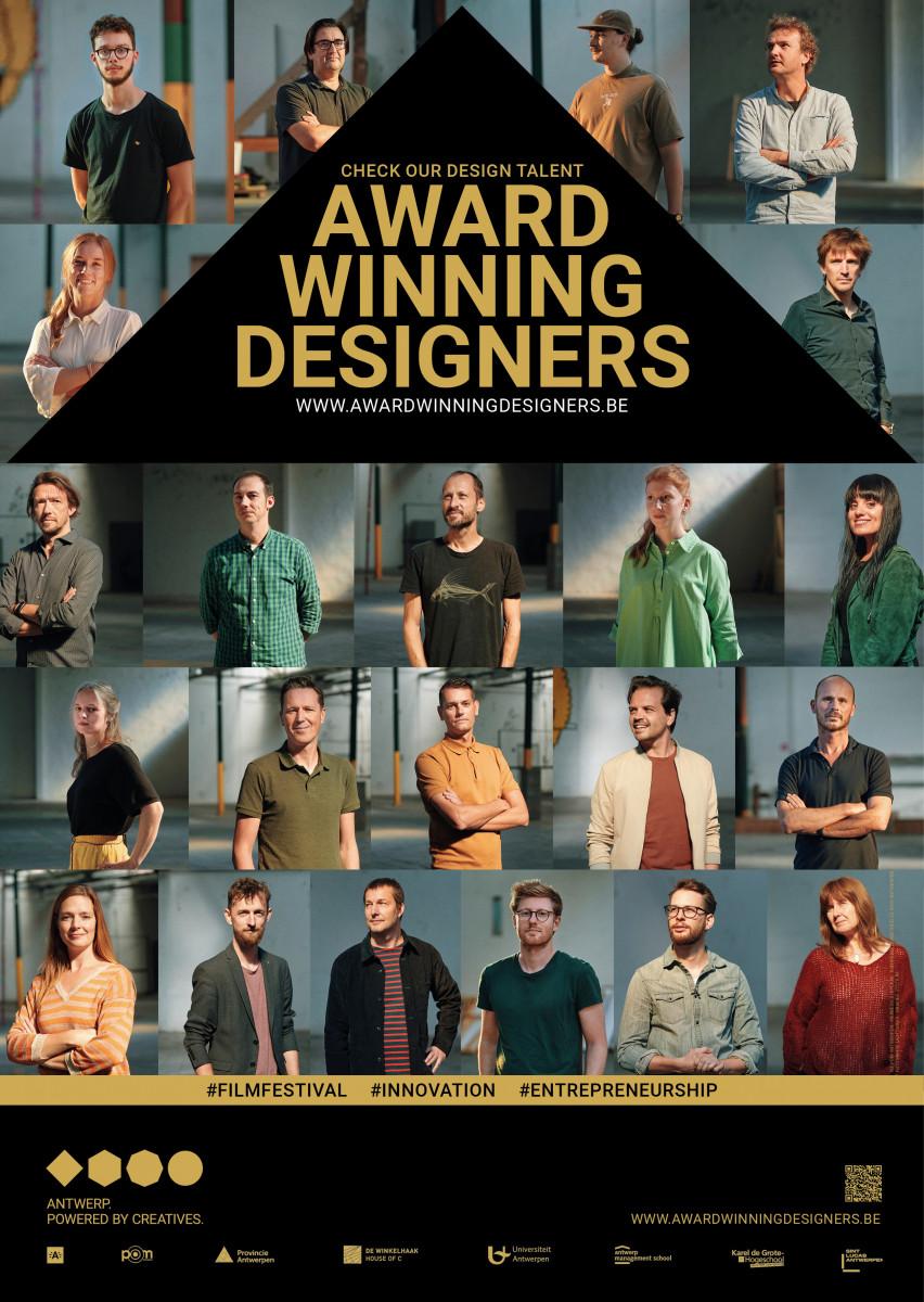 award winning designers affiche