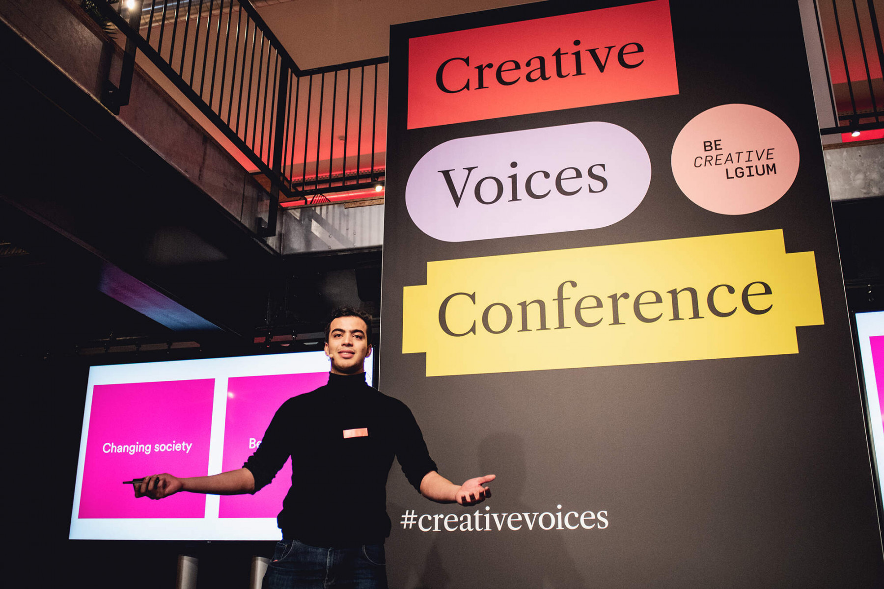Taha Riani, Creatives Voices Conference