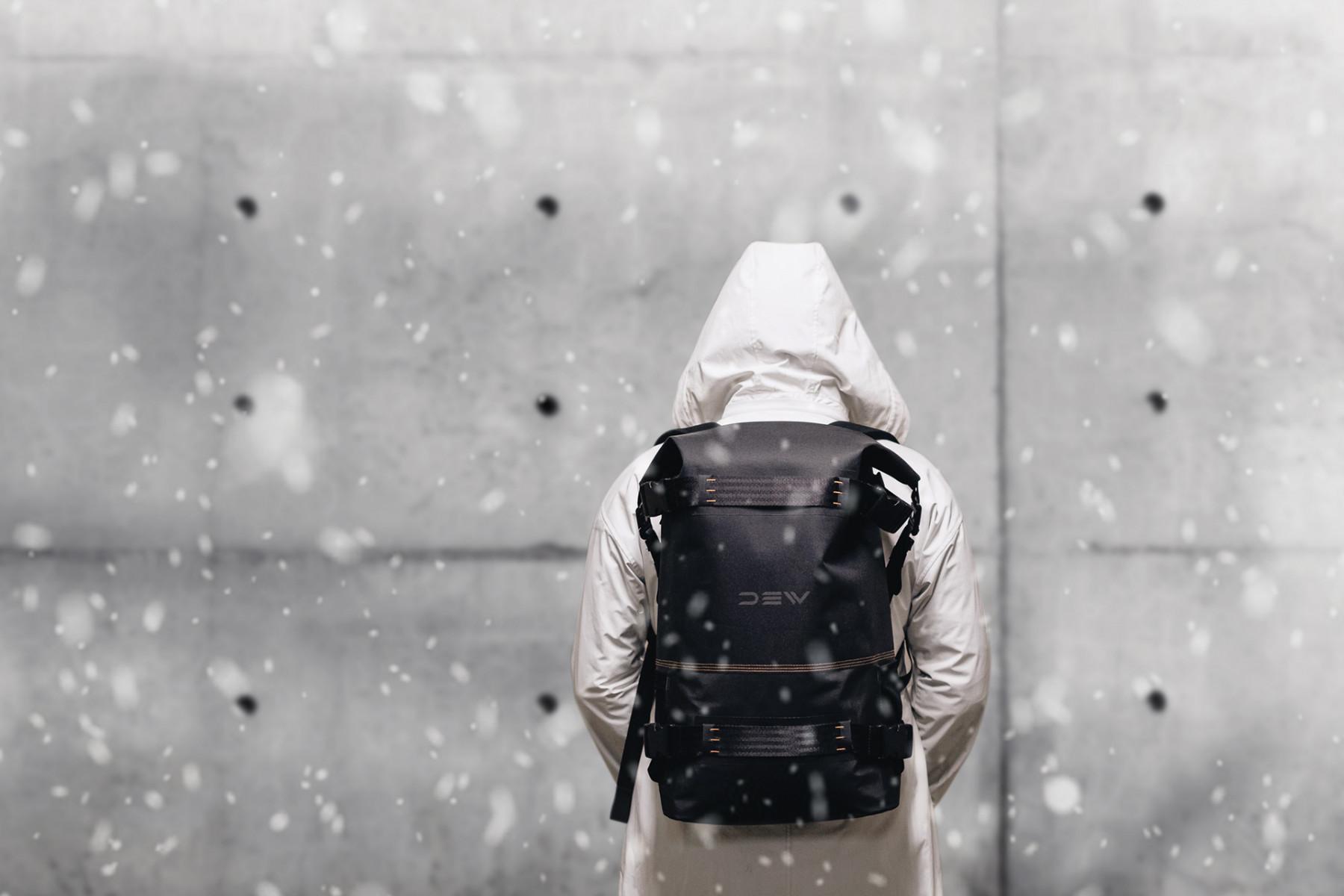 Promotiebeeld DEW backpack