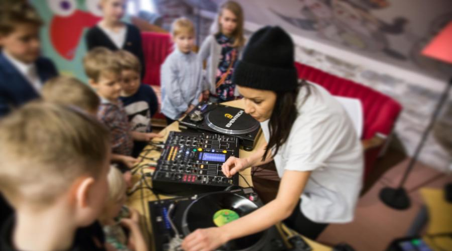 Heidy Purga dj workshop