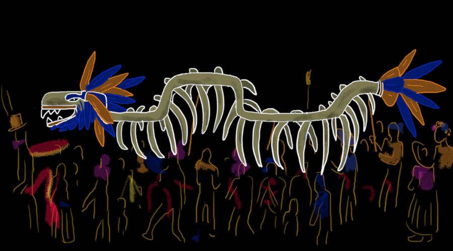 The Dance of the Quetzalcóatl