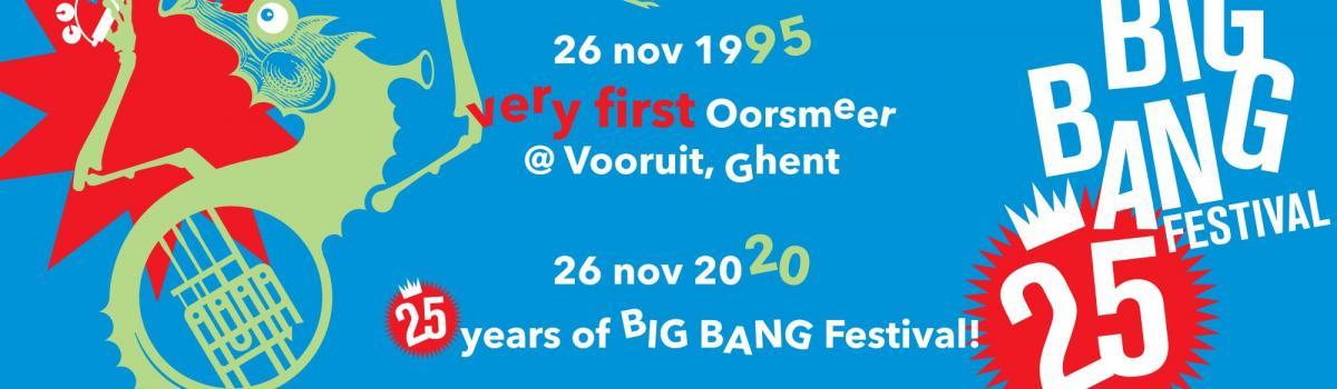25 years of BIG BANG banner