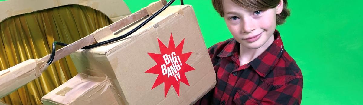 Picture of BIG BANG TV shoot
